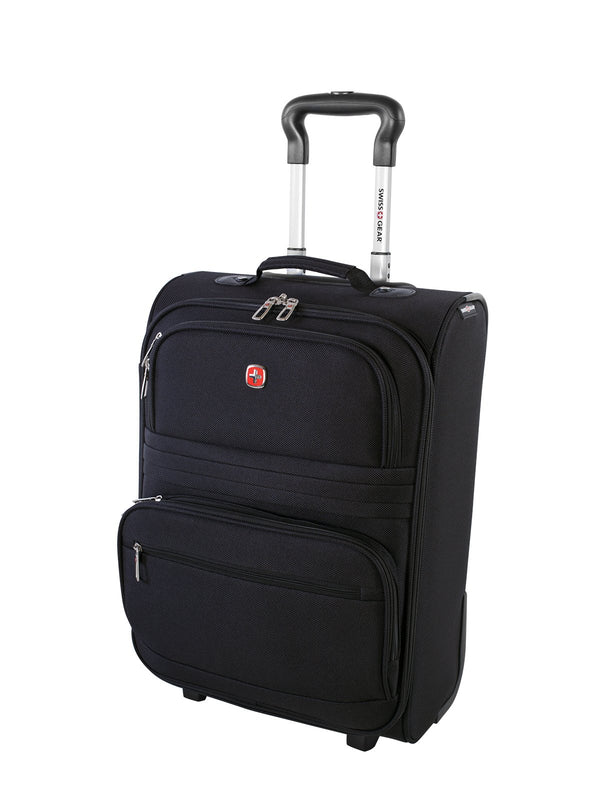 Swiss Gear Baffin II Collection 20 Inch Carry-On Upright Luggage - Black 29cf00f87a8b2
