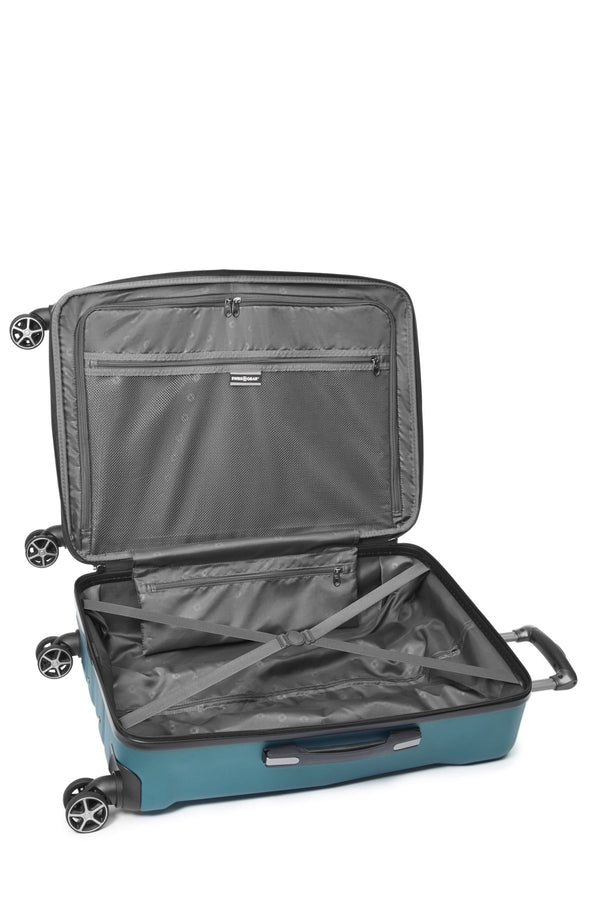 Swiss Gear Global Traveller Collection 28 Inch Upright Hardside 8-Wheel Spinner Luggage