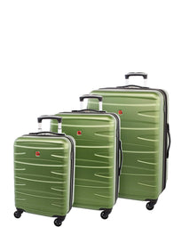 Swiss Gear Paradisin Collection 3 Piece Upright Spinner Luggage Set