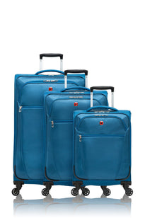 Swiss Gear Vintage Collection 3 Piece Expandable Upright Spinner Luggage Set