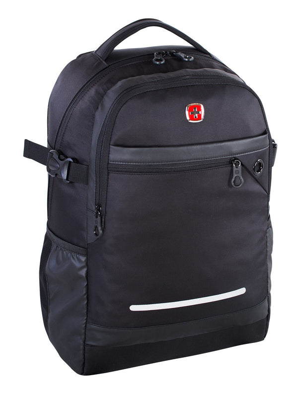 Swiss Gear 15.6 Inch Computer Backpack - Black