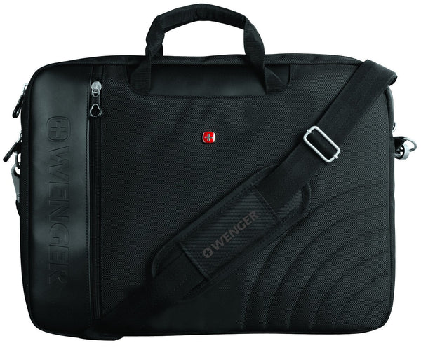 Swiss Gear Ballistic Slipcase With Shoulder Strap - 17.3 Inches - Black