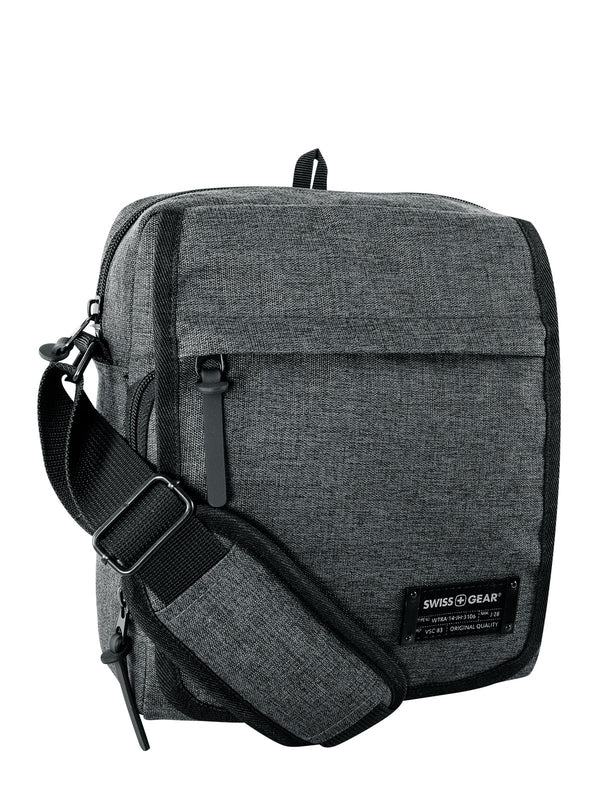 Swiss Gear Getaway Collection Tablet Shoulder Bag with RFID - Grey