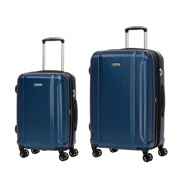 Samsonite Omni 3.0 - 2 Piece Spinner Expandable Luggage Set (Carry-On & Medium) - Dark Blue