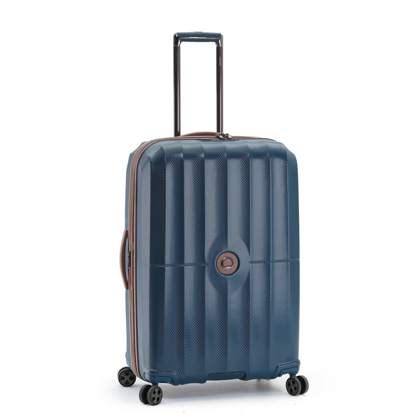 "Delsey St. Maxime 30"" Expandable Spinner Luggage - Navy"