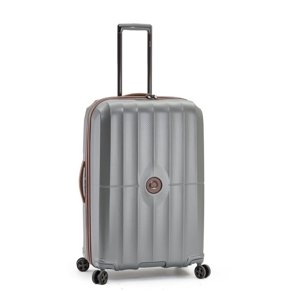 "Delsey St. Maxime 30"" Expandable Spinner Luggage - Grey"