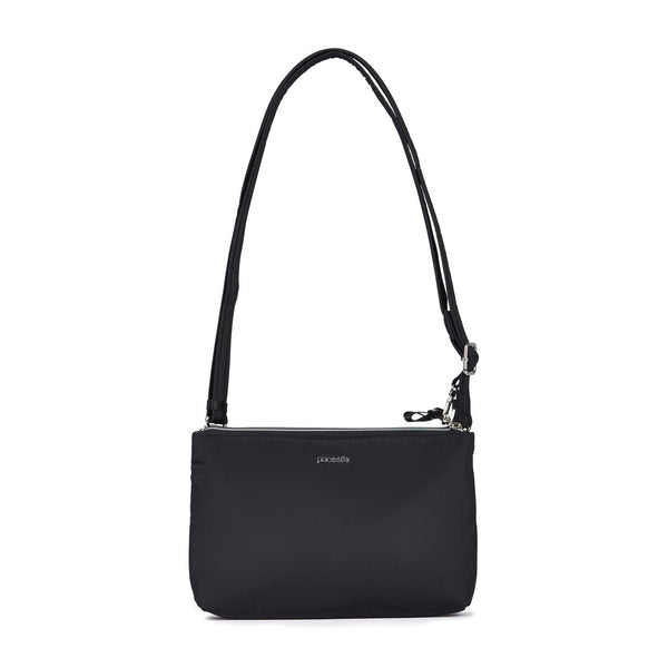 Pacsafe Stylesafe Anti-Theft Double Zip Crossbody Bag - Black