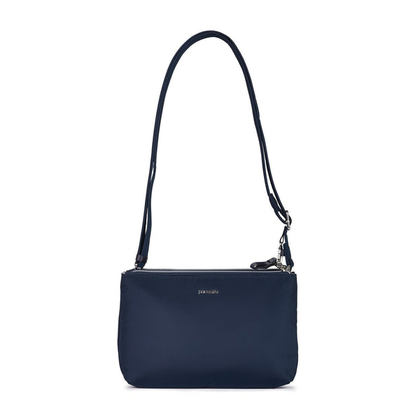 Pacsafe Stylesafe Anti-Theft Double Zip Crossbody Bag - Navy