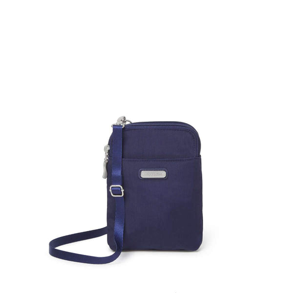 Baggallini Take Two RFID Bryant Crossbody - Navy
