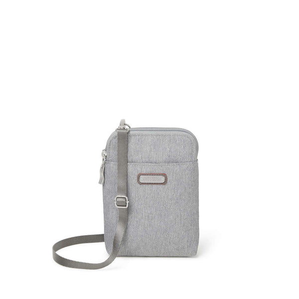 Baggallini Take Two RFID Bryant Crossbody - Stone