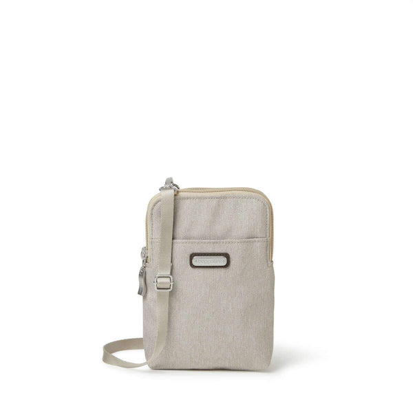 Baggallini Take Two RFID Bryant Crossbody - Sand