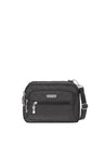 Baggallini Triple Zip Bagg - Charcoal