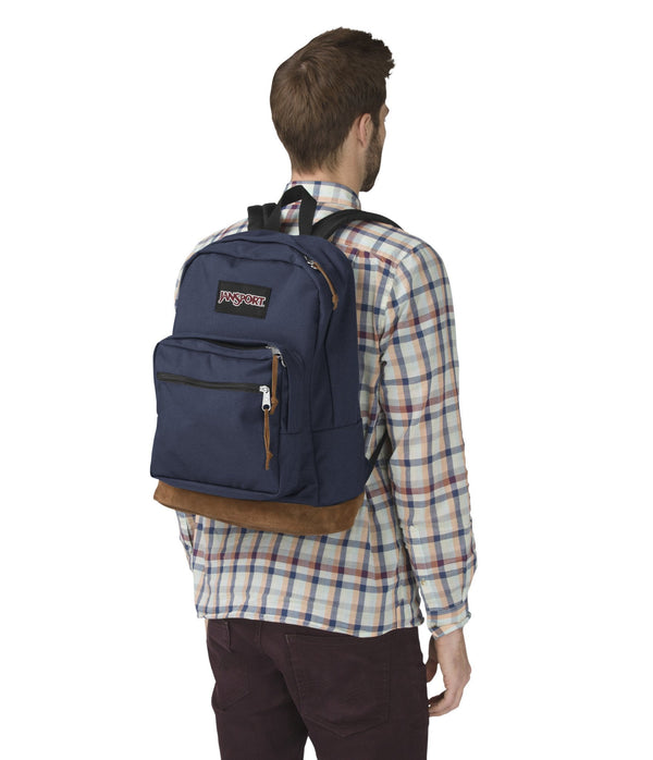 Jansport Right Pack Backpack - Navy - Canada Luggage Depot 9e8dca2261