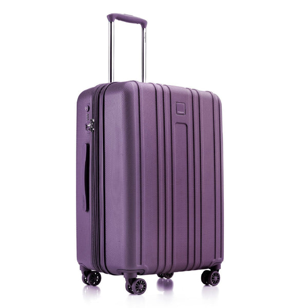 Hedgren Gate MEX 24 Inch Expandable Spinner Luggage - Purple Passion