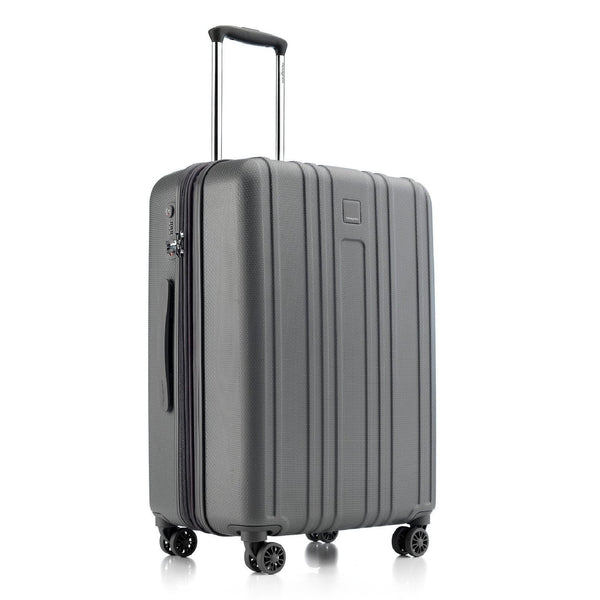 Hedgren Gate MEX 24 Inch Expandable Spinner Luggage - Tornado Grey