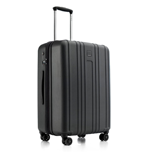 Hedgren Gate MEX 24 Inch Expandable Spinner Luggage - Black