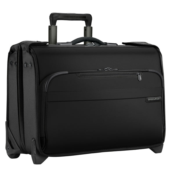 Briggs & Riley Baseline Carry-On Wheeled Garment Bag - Black