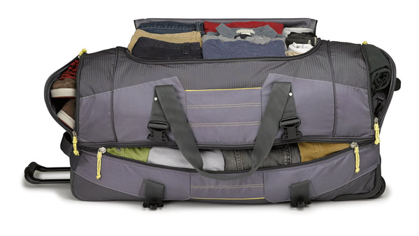 High Sierra Ultimate Access 36 inch Drop-Bottom Wheeled Duffle
