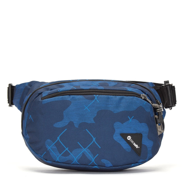 Pacsafe Vibe 100 Anti-theft Hip Pack (RFID Blocking) - Blue Camo