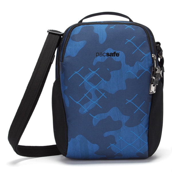 Pacsafe Vibe 200 Anti-theft Compact Travel Bag (RFID Blocking) - Blue Camo