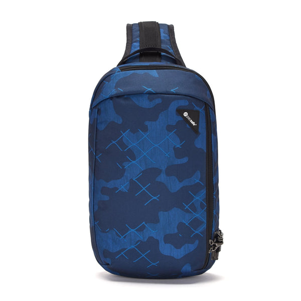 Pacsafe Vibe 325 Anti-Theft Sling Pack - Blue Camo