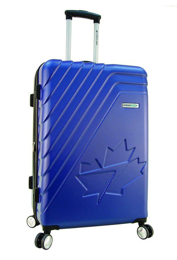 WestJet Saturn Hardside Medium Spinner Luggage - Blue