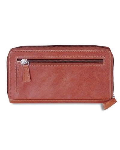 "Mancini CASABLANCA Collection Ladies' ""Clutch"" Wallet (RFID Secure)"