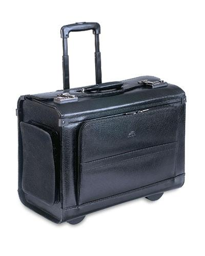 Mancini BUSINESS Collection Wheeled Catalog Case - Black