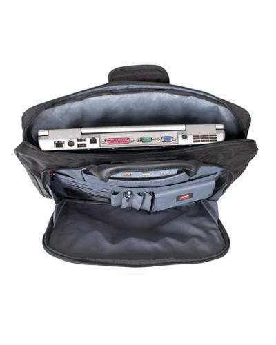 Mancini BIZTECH Collection CompuCase-Slim Laptop/ Tablet Briefcase