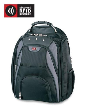 Mancini BIZTECH Collection Backpack for Laptop and Tablet
