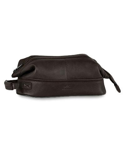 Mancini COLOMBIAN Collection Classic Toiletry Kit with Organizer - Black