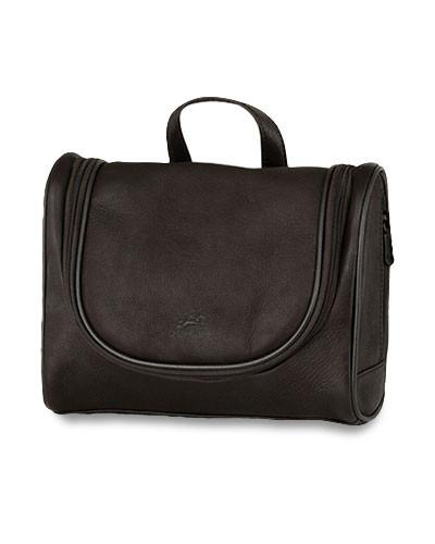Mancini COLOMBIAN Collection Deluxe Toiletry Kit - Black