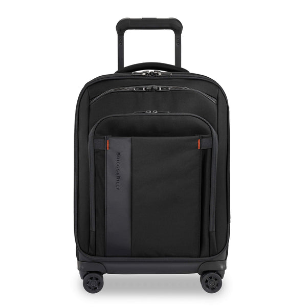 "Briggs & Riley ZDX 21"" Carry-On Expandable Spinner Luggage - Black"
