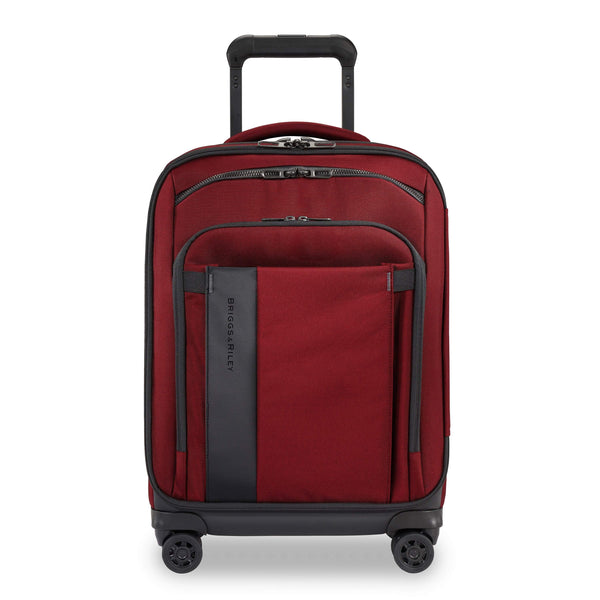 "Briggs & Riley ZDX 21"" Carry-On Expandable Spinner Luggage - Brick"
