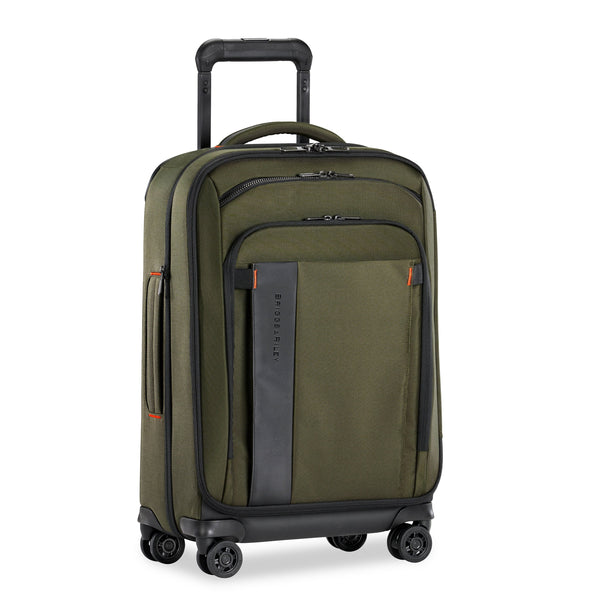 "Briggs & Riley ZDX 22"" Carry-On Expandable Spinner Luggage - Hunter"