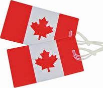 Samsonite Canadian Flag Luggage Tag - 2 Pack