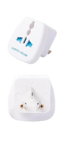 Austin House Grounded Adapter Plug (J)