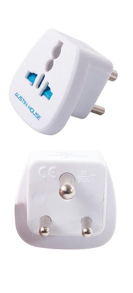 Austin House Grounded Adapter Plug (M)