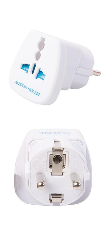 Austin House Grounded Adapter Plug (H)