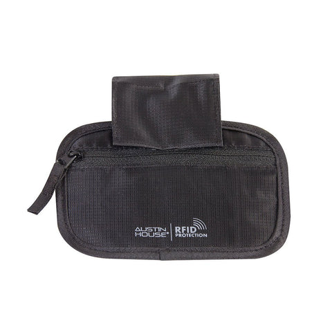 Austin House Hideaway Pocket with Belt Loop and RFID Protection