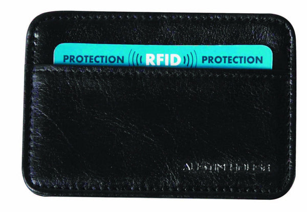 Austin House Card Case with RFID Protection