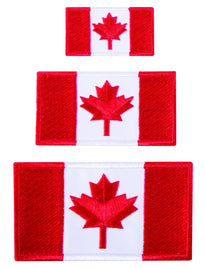 Austin House Iron On Canada Patches