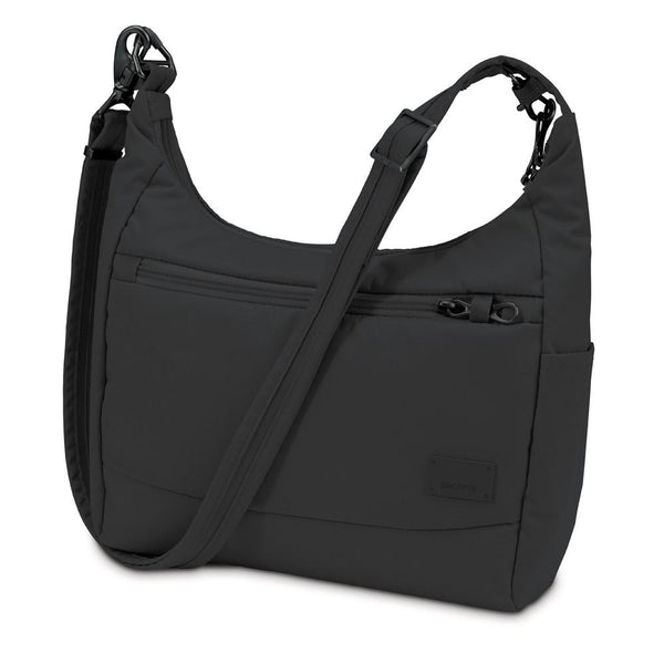Pacsafe Citysafe™ CS100 anti-theft travel handbag (RFID) - Black