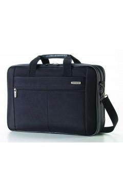 Samsonite Classic 2 - 2 Gusset Laptop Briefcase With RFID