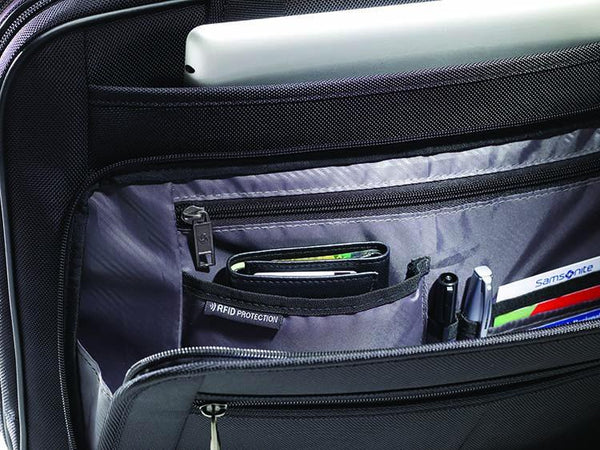 Samsonite Classic 2 - 3 Gusset 15.6 Inch Laptop Briefcase With RFID