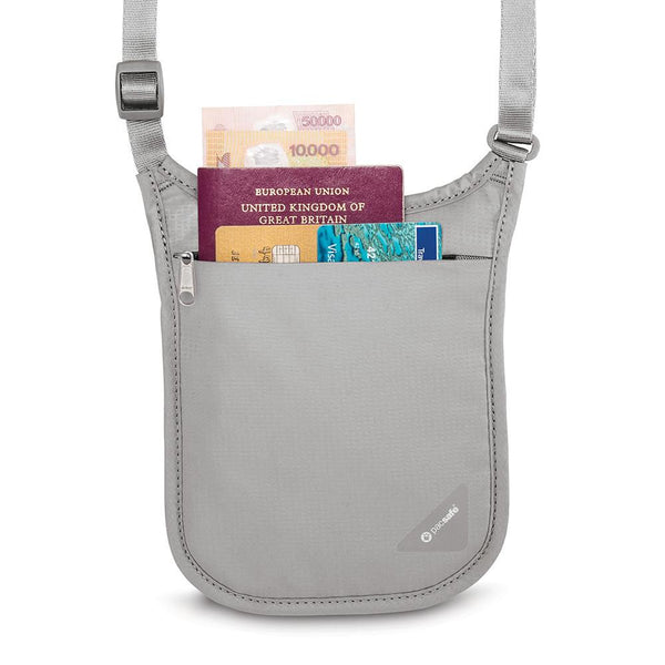 Pacsafe Coversafe™ V75 RFID blocking neck pouch