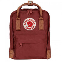 Fjallraven Kanken Mini Backpack - Ox Red-Goose Eye