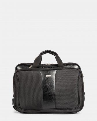 Bugatti Gregory Laptop Briefcase - Black
