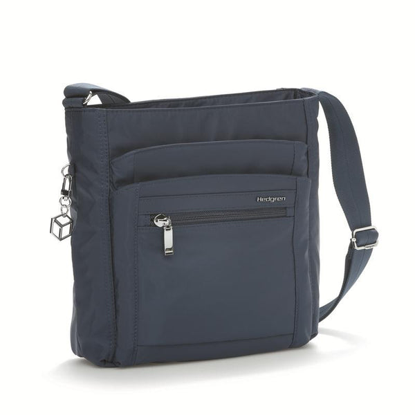 Hedgren Inner City Crossbody with RFID Blocking Pouch - Dress Blue
