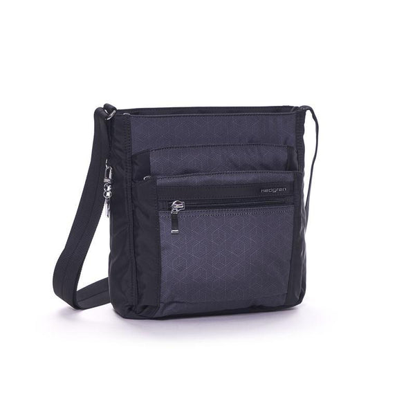Hedgren Inner City Crossbody with RFID Blocking Pouch - Cube Print